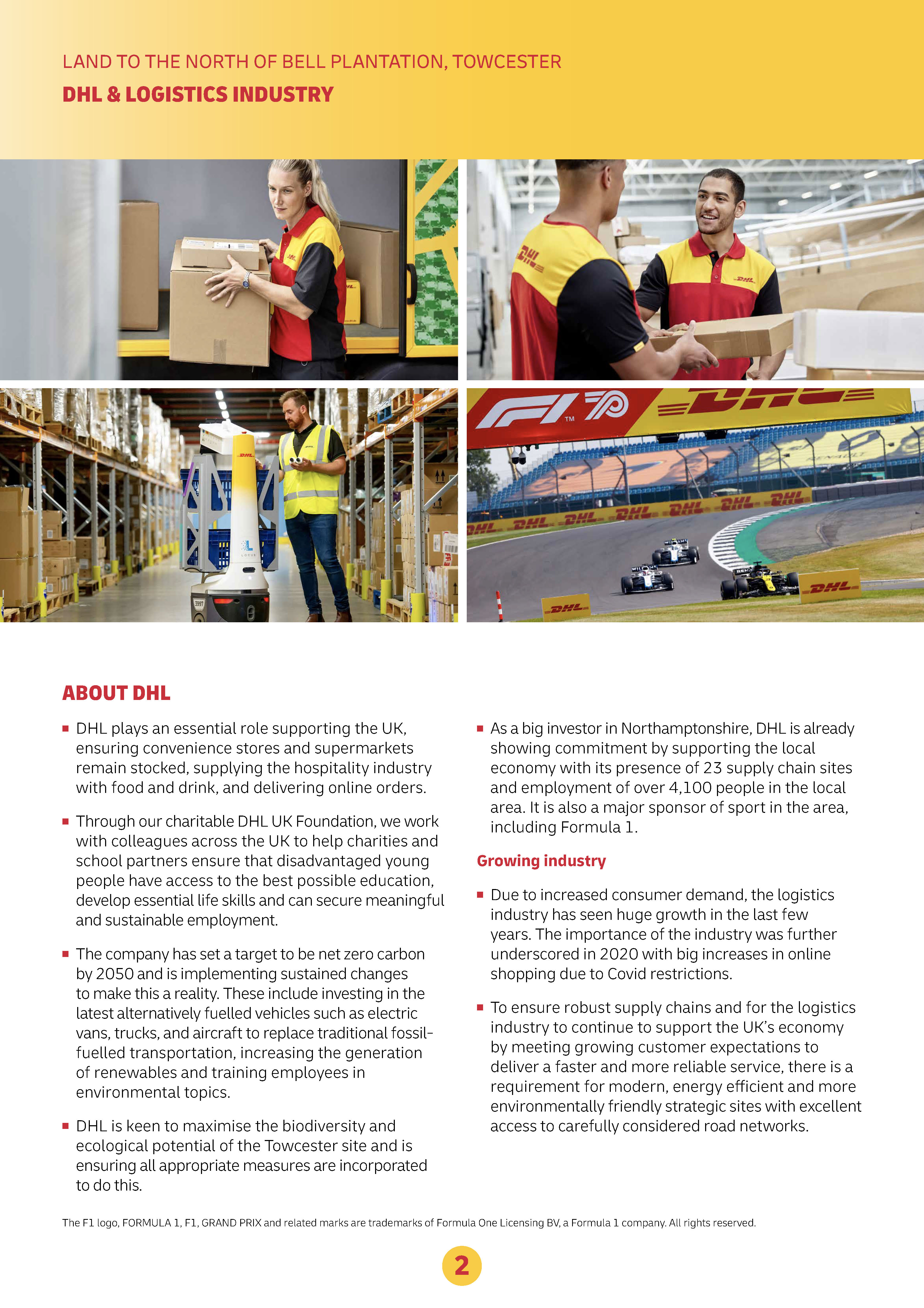 About DHL